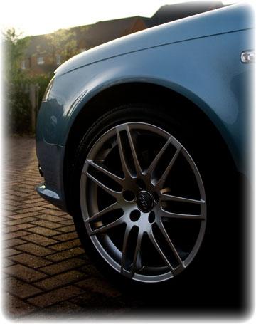 Polished Wheel After Mobile Car Valet Master Liverpool